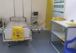В муниципальных больницах Кишинева госпитализированы 1488 пациентов с COVID-19