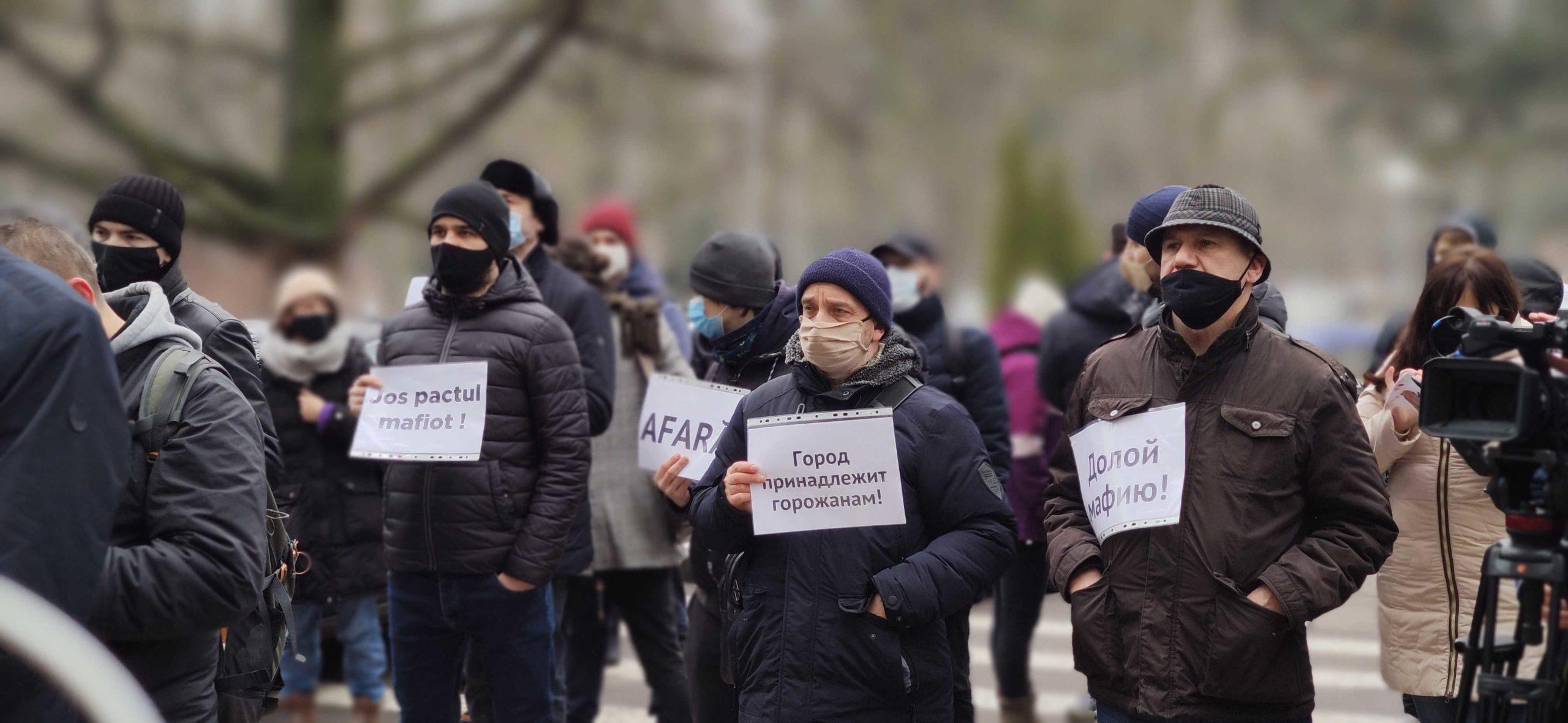«Это — наша общая боль». ВКишиневе прошел протест против «сговора правительства смафией застройщиков» (ФОТОРЕПОРТАЖ NM)