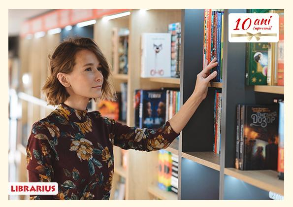 Librarius: În 10 ani am creat 1001 de emoții tuturor generațiilor