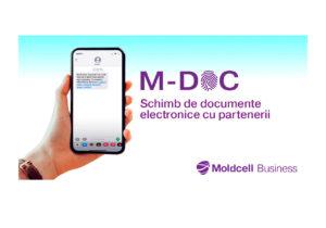 Moldcell lansează M-DOC – serviciu inovator destinat schimbului de documente electronice
