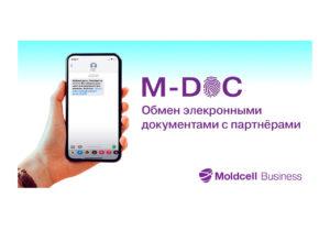 Moldcell запустила M-DOC – инновационную услугу электронного документооборота