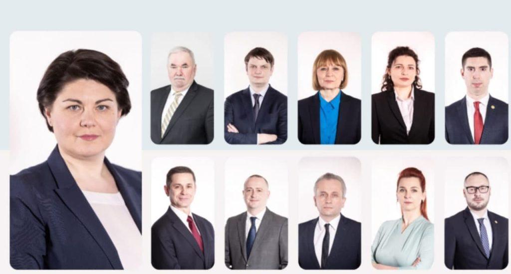 Oficial: Lista cabinetului de miniștri propusă de premierul desemnat, Natalia Gavrilița (FOTO)