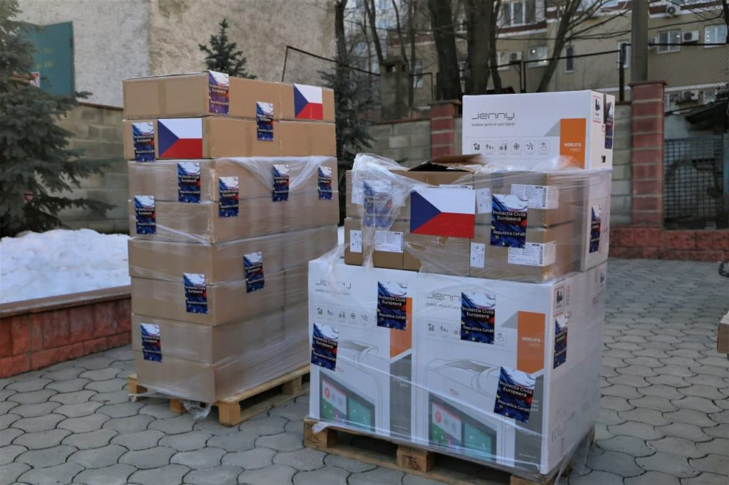 Un nou ajutor din partea Cehiei. Echipamente de peste €1,3 mln vor ajunge în spitalele din Moldova