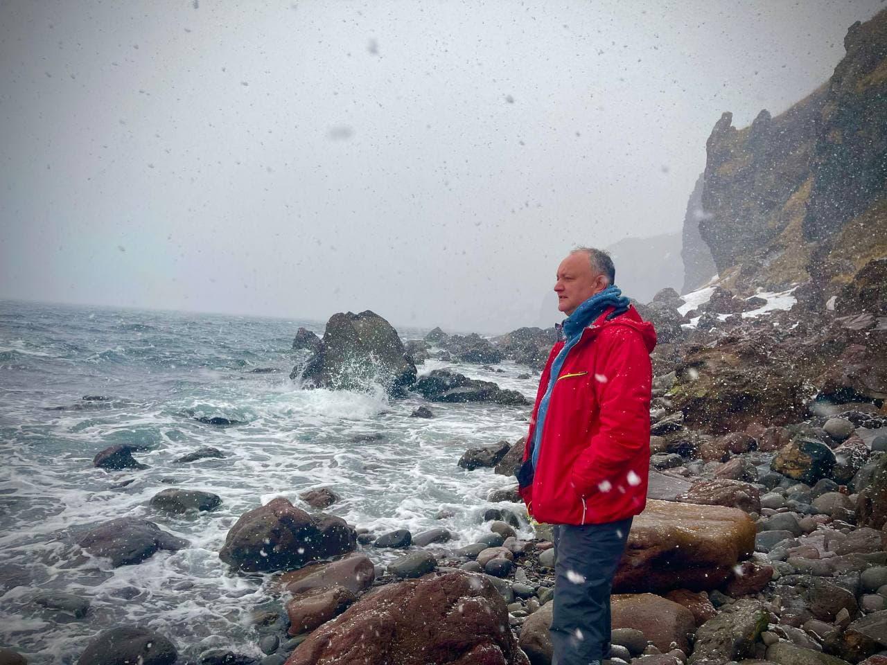 «Прекрасный повод для медитации». Додон провел свой день рождения наДальнем Востоке (ФОТО)