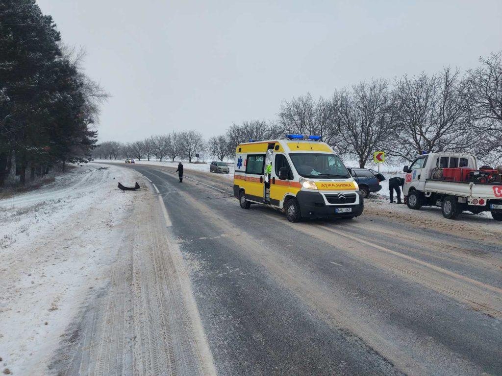 Accident cu doi morți și trei răniți în raionul Râșcani (FOTO)