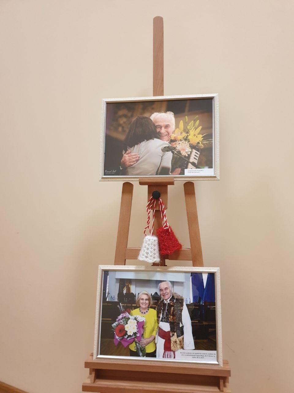 Expoziție fotografică dedicată maestrului Eugen Doga, la 84 de ani (VIDEO)