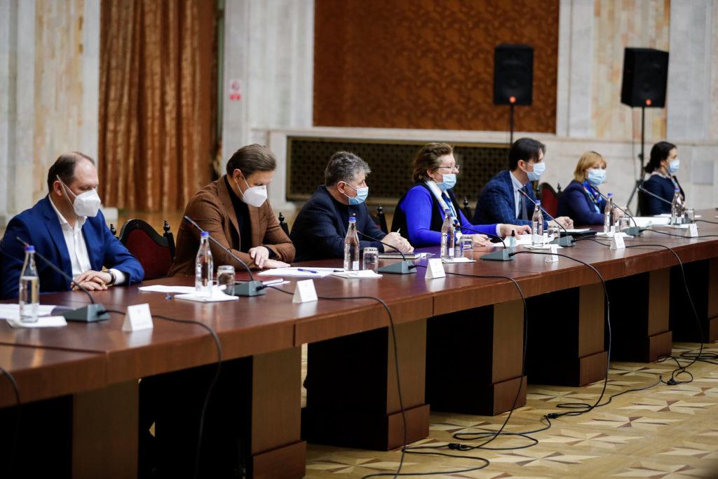 Ședința Consiliului Suprem de Securitate a început. Primele fotografii cu participanții