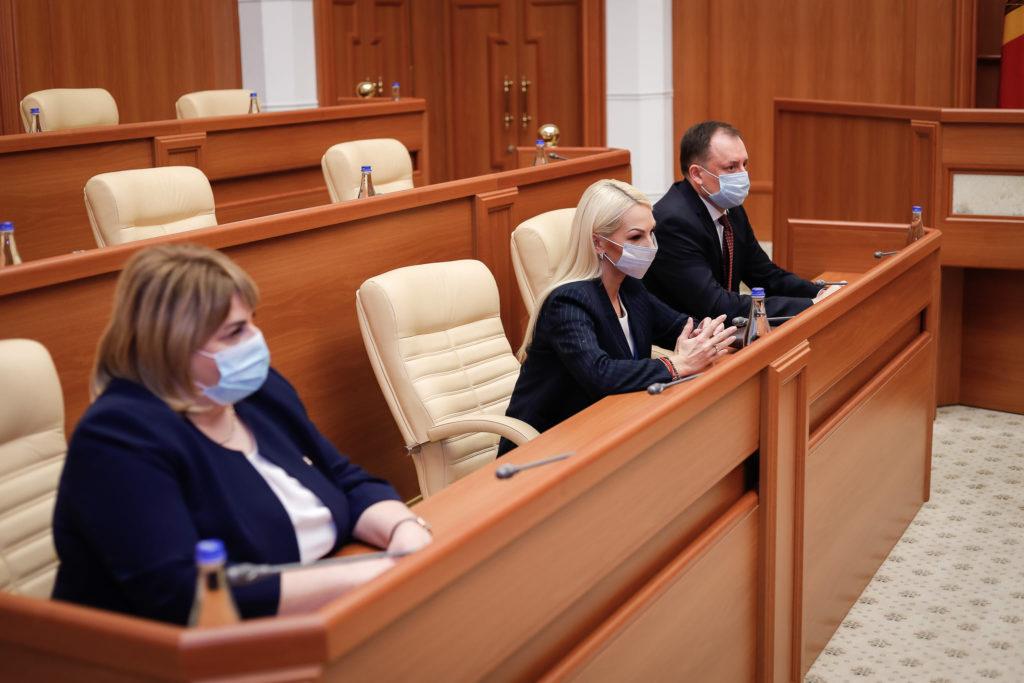 """""""Dialog deschis și constructiv de ambele părți"""". Maia Sandu a finalizat discuțiile cu fracțiunea Partidului """"ȘOR"""""""