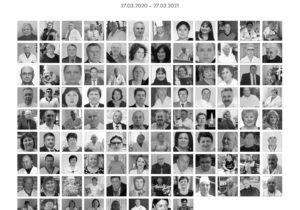 Санду посмертно наградила 134медработников, умерших вборьбе скоронавирусом