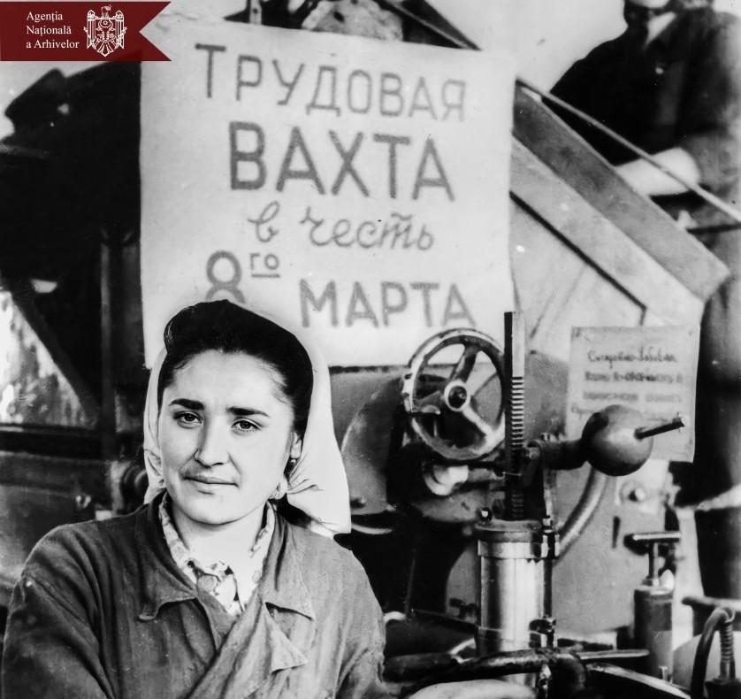 Госархив опубликовал подборку фотографий в честь Международного женского дня