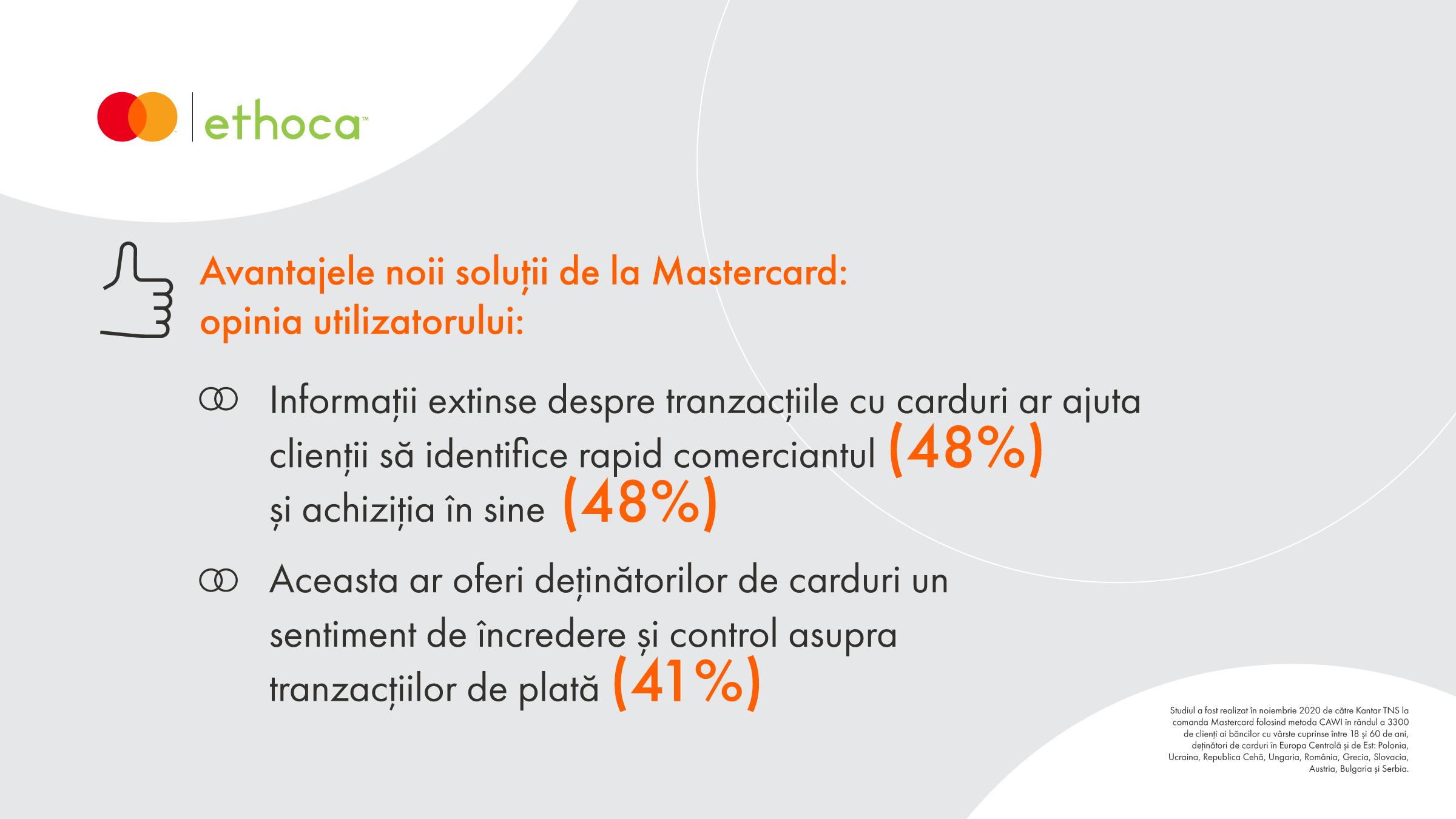 Studiu Mastercard: Clienții doresc să afle mai multe detalii despre  achizițiile lor bancare digitale