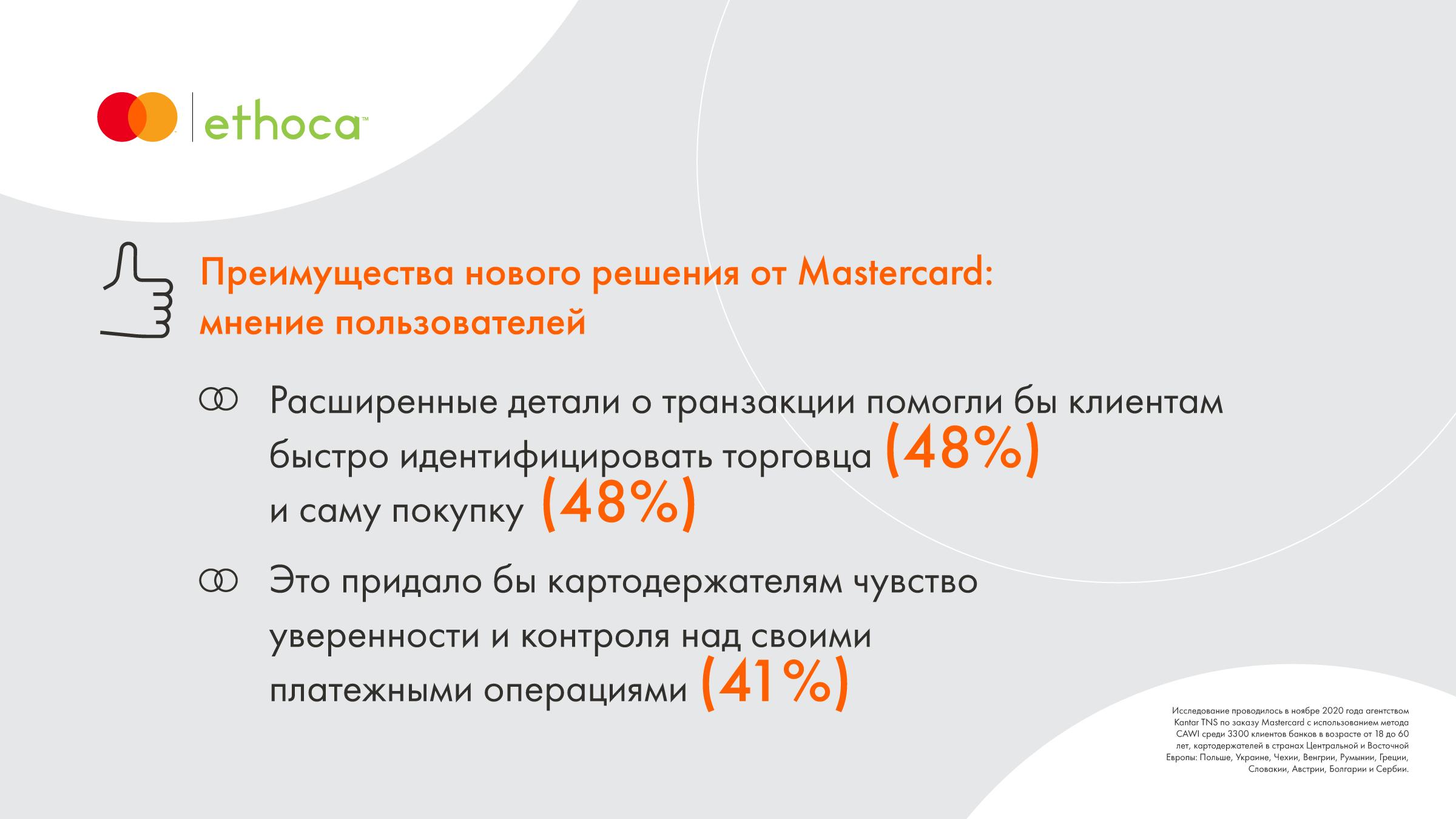 Исследование Mastercard: клиенты хотят получать больше деталей о своих покупках в цифровом банкинге