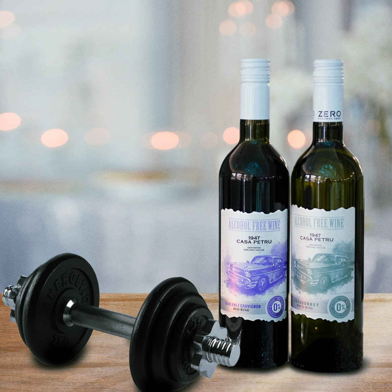 Un nou produs de la CASA PETRU. Întâmpinăm primăvara cu noul vin fără alcool ROZE