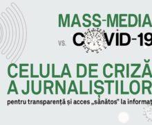 Jurnaliștii solicită ca reprezentanții mass-media din prima linie să fie vaccinați în etapa a II-a