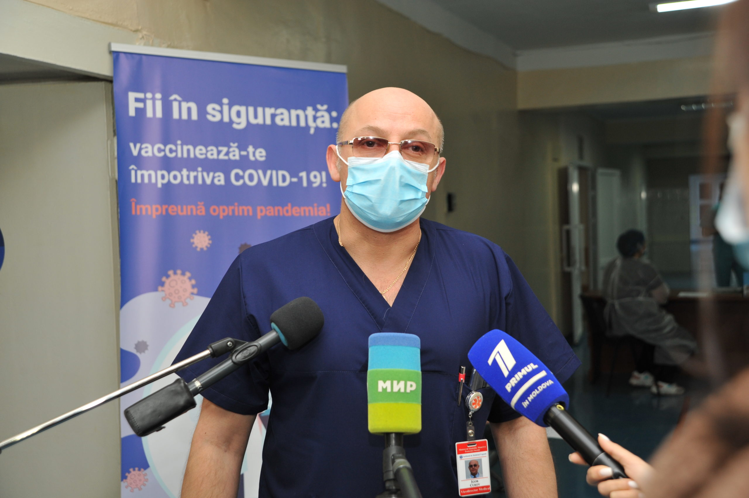 Как прошел первый день вакцинации вМолдове. Фоторепортаж NM