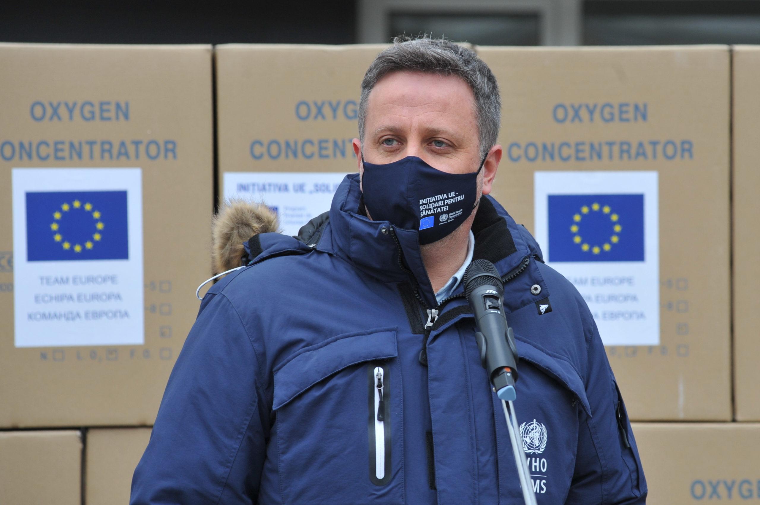 ЕС и ВОЗ предоставили Молдове оборудование для лечения пациентов с коронавирусом (ФОТО)