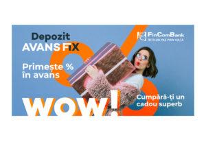 FinComBank запустил новый депозитный продукт  с выплатой % в аванс!