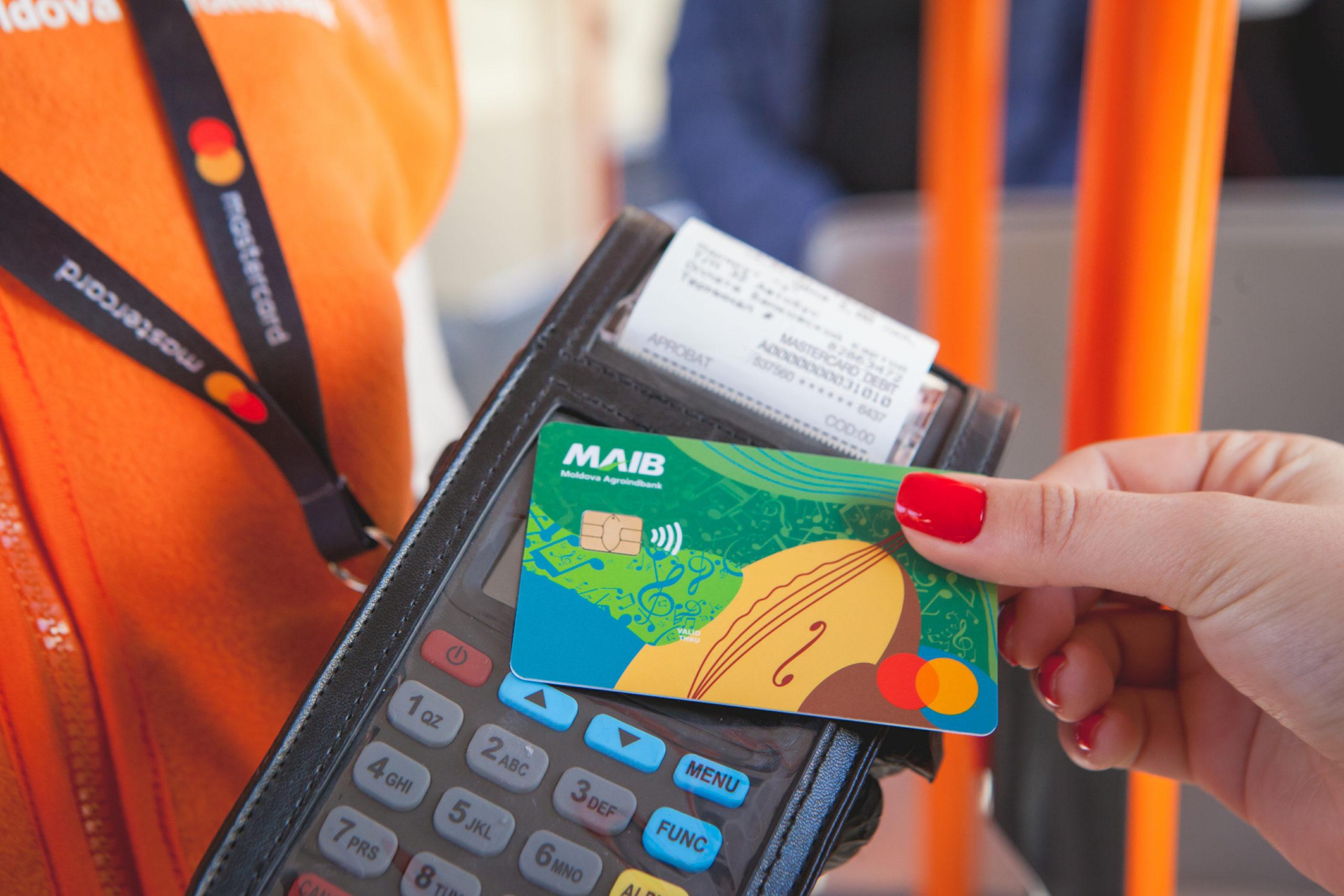 Primăria municipiului Chișinău, Mastercard și Moldova Agroindbank încep implementarea proiectului plăţilor contactless în transportul public din capitală