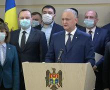 Додон назвал первых 11кандидатов в депутаты отпредвыборного блока ПКРМ-ПСРМ