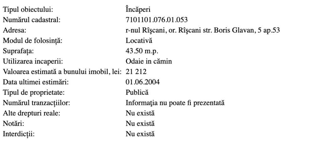 Deputat PAS: Președintele raionului Râșcani și-a cumpărat apartament din bani publici. Reacția oficialului
