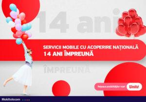 Lider înnăscut! Serviciul de telefonie mobilă Unité de la Moldtelecom – 14 ani de dezvoltare continuă