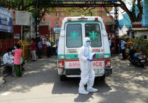 ВИндии зафиксировали мировой антирекорд— 314,8тыс. заразившихся коронавирусом засутки