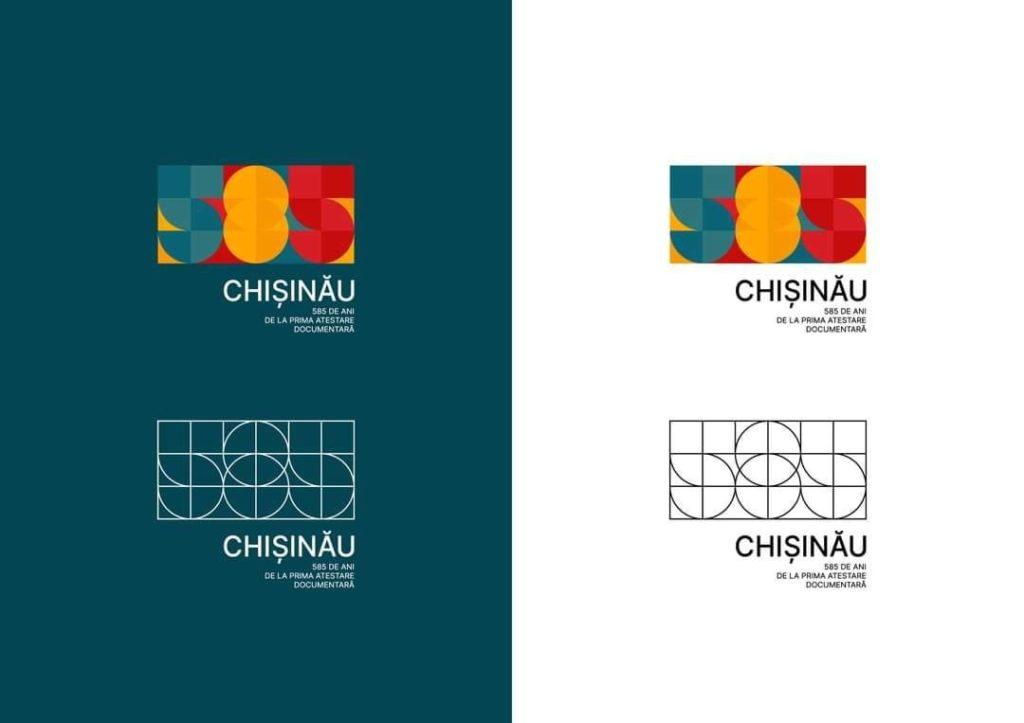 A fost ales logo-ul pentru aniversarea a 585 de ani de la prima atestare documentară a Chișinăului (FOTO)