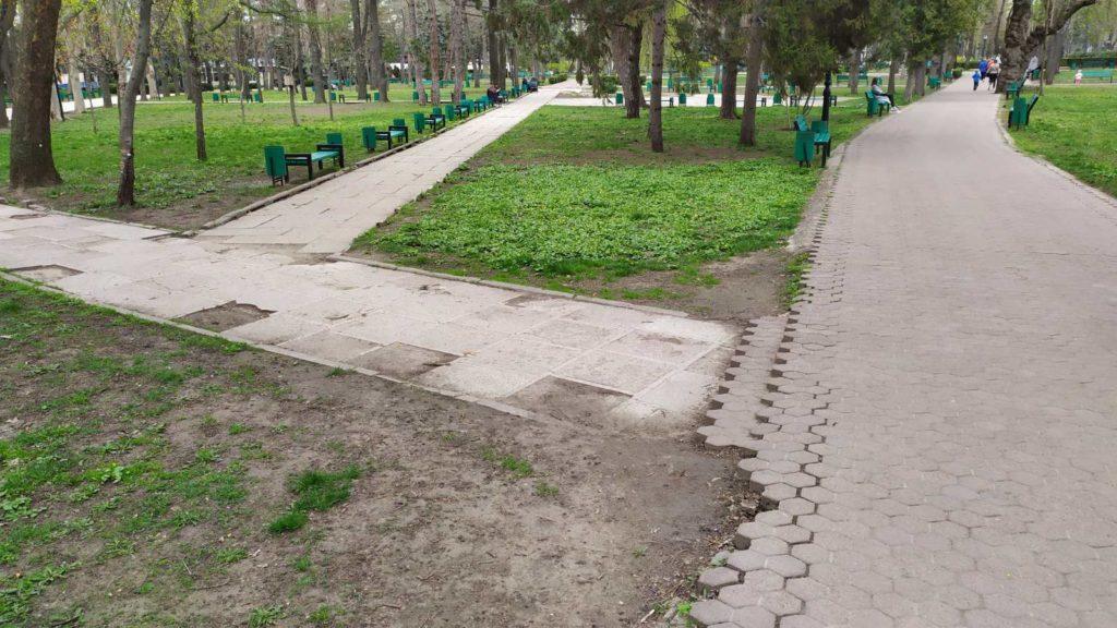 Парк, вкоторый непопасть. Как Центральный парк Кишинева проверили надоступность