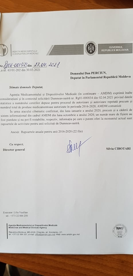 Un deputat PAS a solicitat informații despre importul medicamentelor neautorizate. Ce răspuns a primit de la AMDM