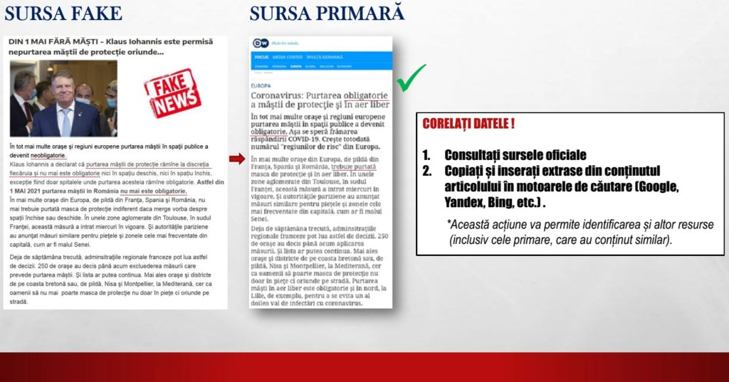SIS solicită blocarea a încă două site-uri care răspândeau știri false (FOTO)