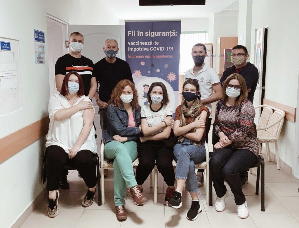 Команда NewsMaker вакцинировалась откоронавируса #SuntVaccinat
