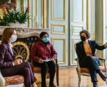 Maia Sandu s-a întâlnit cu primarul orașului Strasbourg. Despre ce au discutat?