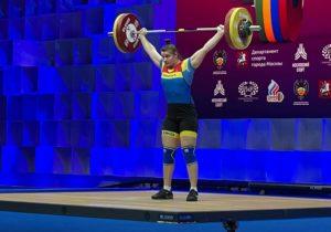 Спортсменка изМолдовы Елена Кылчик завоевала серебро начемпионате Европы