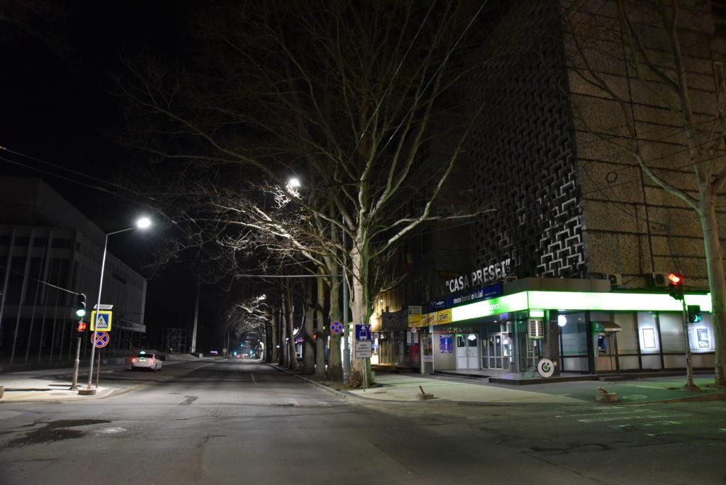 Как выглядит ЧП в Кишиневе. Днем и ночью. Фоторепортаж NM