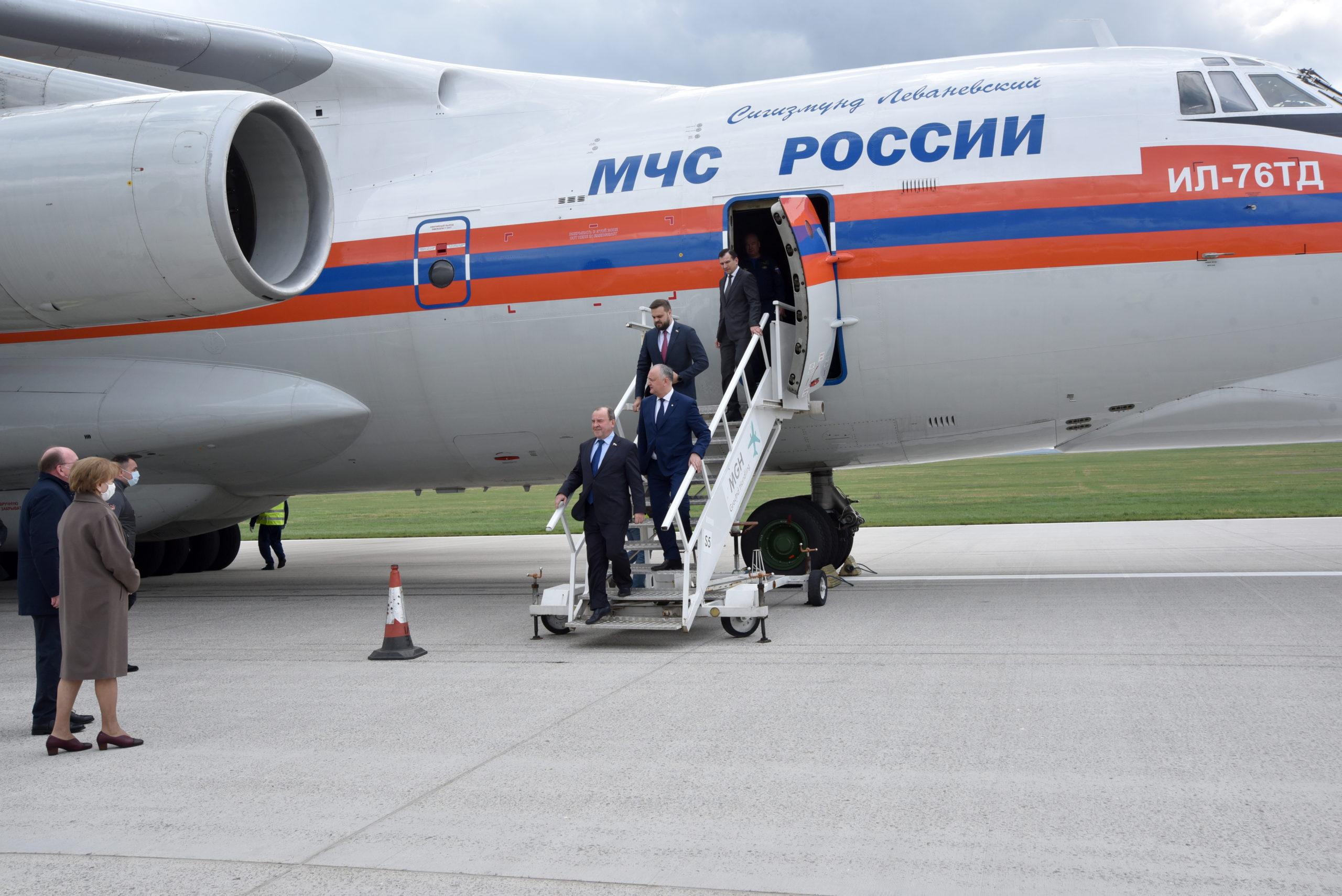 Cum a avut loc evenimentul de recepționare a lotului de vaccinuri Sputnik-V (FOTOREPORTAJ)
