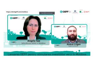 GEFF, программа ЕБРР по финансированию экологически ориентированной экономики, официально запущена в Республике Молдова