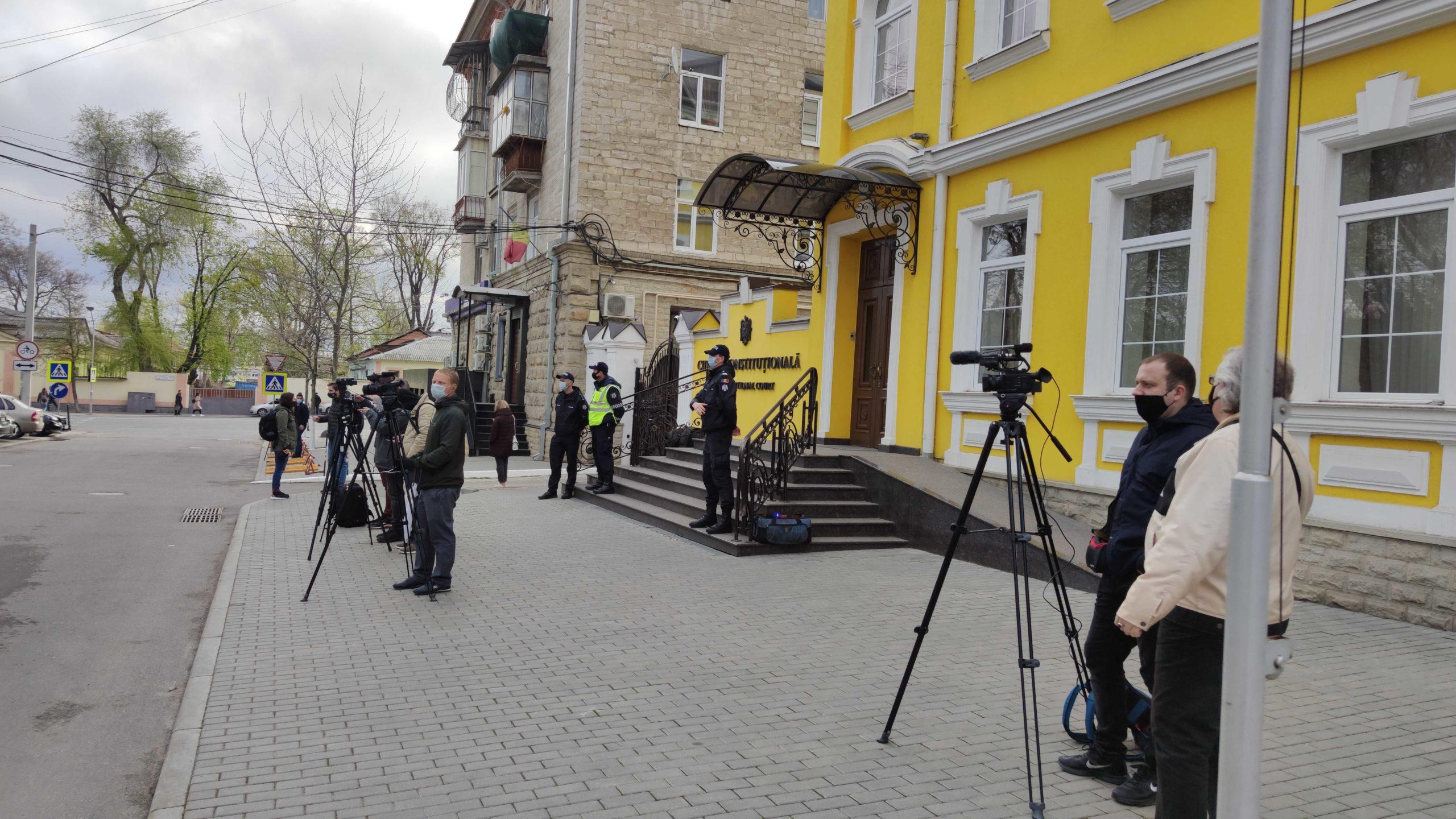 ВКишиневе проходит протест взащиту Конституции. Стрим NM