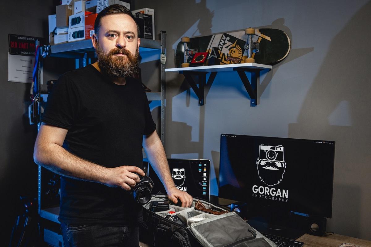 """Nicolae Gorgan: """"Secretul unei fotografii reușite stă în mâinile dibace ale fotografului, buna dispoziție și tehnica performantă"""""""