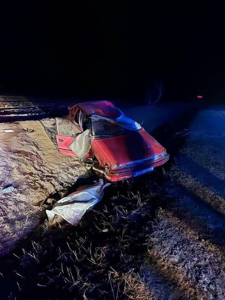 Un tânăr beat și fără permis a provocat un accident la Sîngerei. O fată de 18 ani a murit (FOTO)