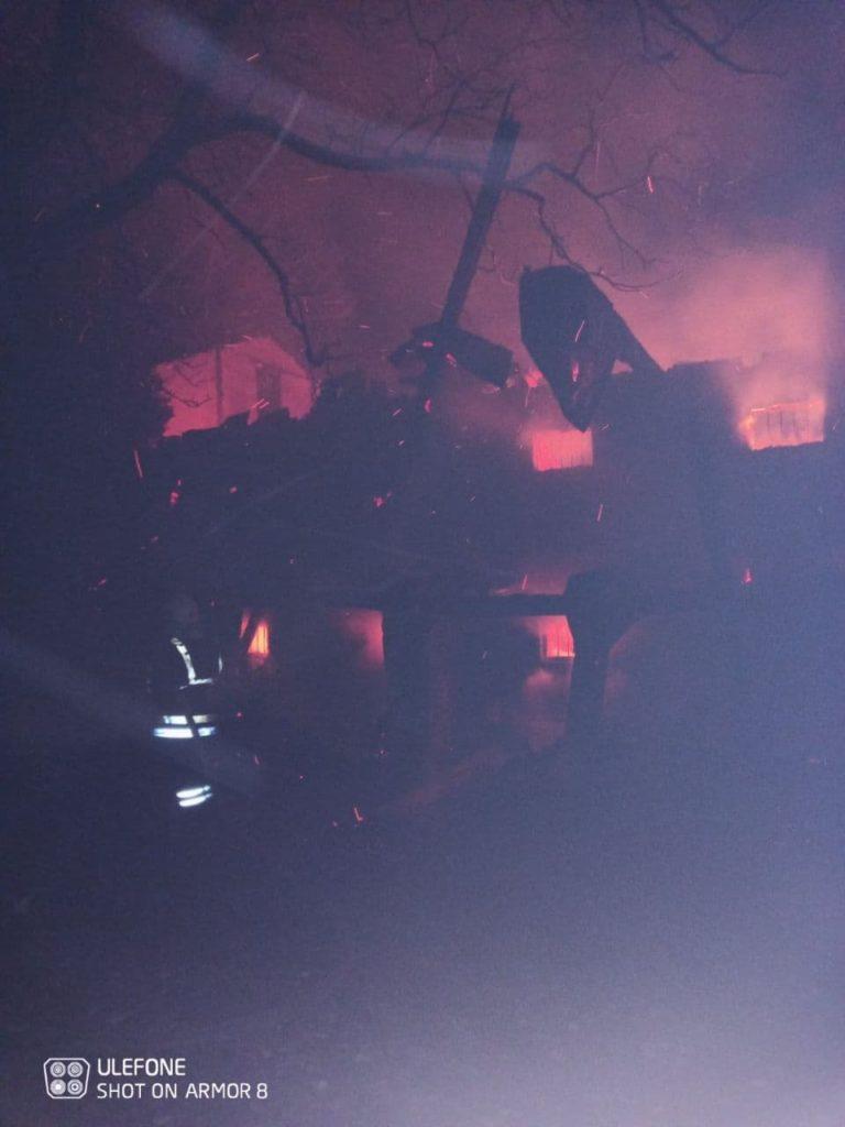 Вмонастыре вХыржавке произошел пожар (ФОТО)