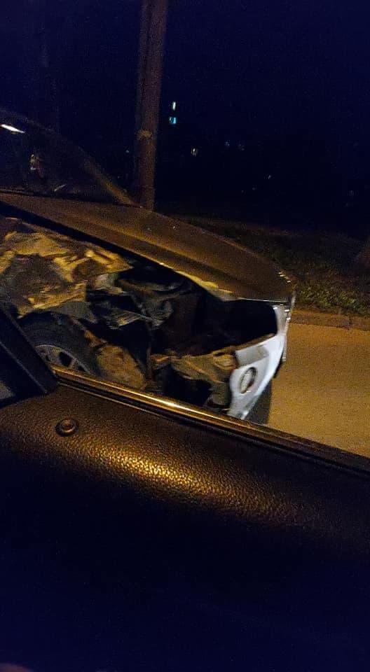 Un BMW și o Dacie s-au ciocnit în sectorul Botanica al capitalei (FOTO)