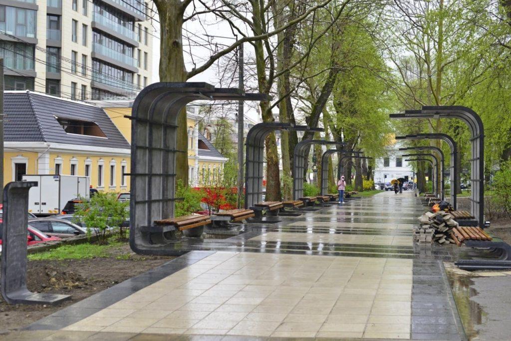 Мэрия Кишинева обещает в мае сдать в эксплуатацию новую Аллею художников (ФОТО)