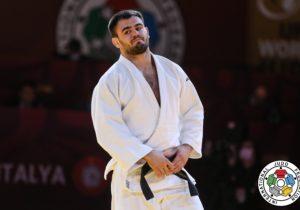 Judocanul Victor Sterpu a cucerit medalia de bronz la Grand Slam-ul din Antalya