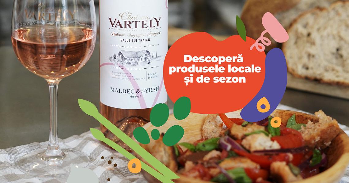 """""""Descoperă produsele locale de sezon"""" – o campanie marca Château Vartely"""