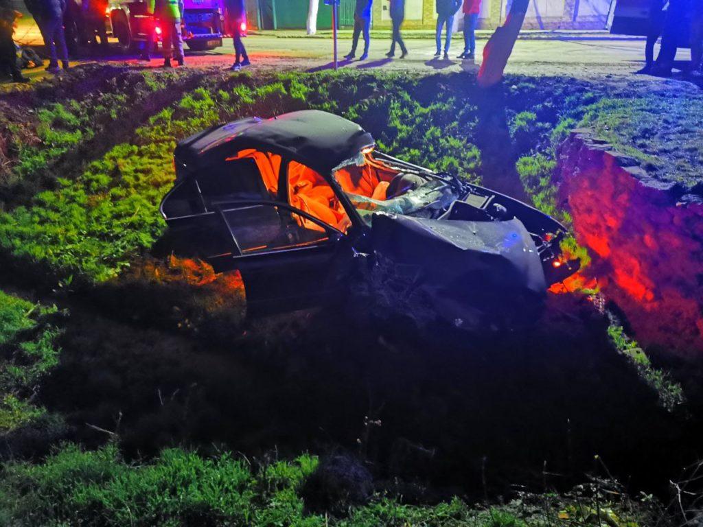 Un bărbat de 30 de ani din Ștefan Vodă a murit în urma unui accident rutier (FOTO)