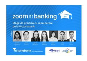 Студенты Академии экономических наук Молдовы окончили теоретические курсы и тренинги, пройдя стажировку в рамках образовательной программы Zoom in Banking