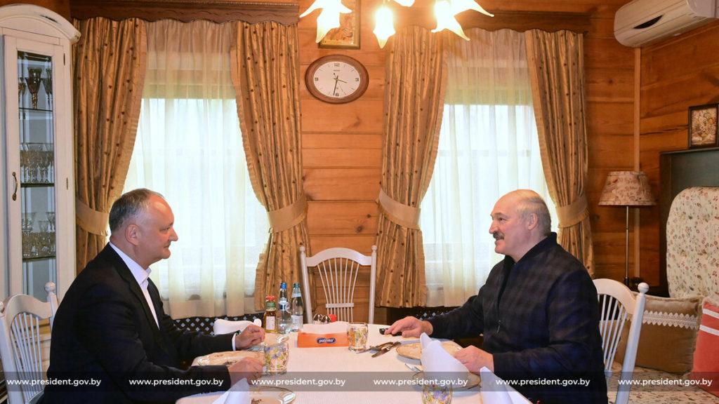 «У такого человека и государственного деятеля есть чему поучиться». Додон рассказал о своей встрече с Лукашенко