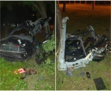 ВКишиневе автомобиль врезался вдерево. Водитель умер в больнице (ФОТО) (ОБНОВЛЕНО)