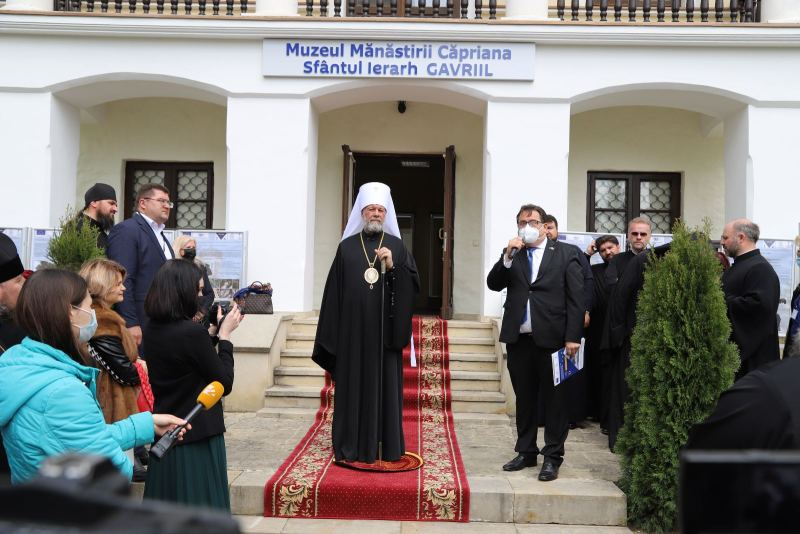 ВКаприянском монастыре открылся музей Бэнулеску-Бодони (ФОТО)
