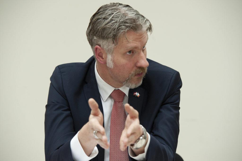 """""""Nici nu poate fi vorba că Europa acaparează Moldova"""". Interviu NM cu Uldis Mikuts, Ambasadorul Letoniei în Moldova"""